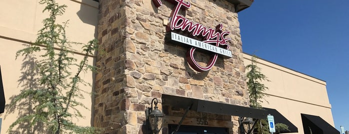 Tommy's Italian American Grill is one of OKC-Places to Eat.