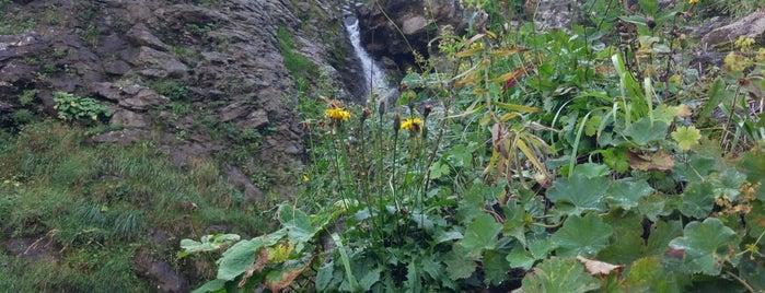 Поликаря вдп. / Polikarya waterfall is one of Tempat yang Disukai Stanislav.