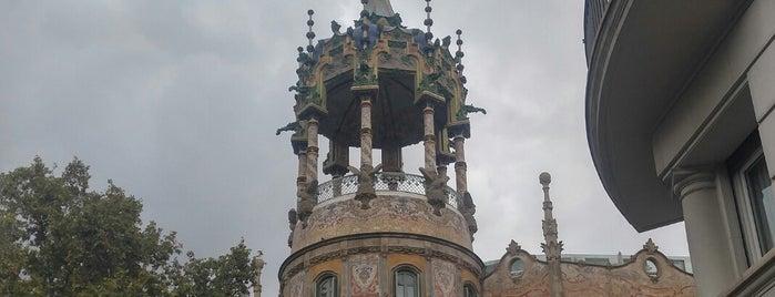 Sant Gervasi-La Bonanova is one of Tempat yang Disukai Marco.