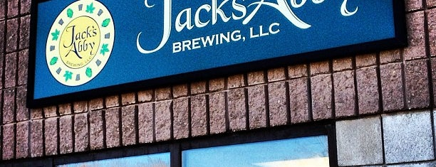 Jack's Abby is one of Beer / Ratebeer's Top 100 Brewers [2019].