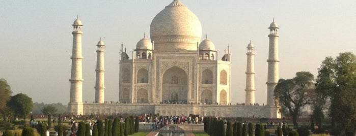 Taj Mahal is one of The Bucket List.