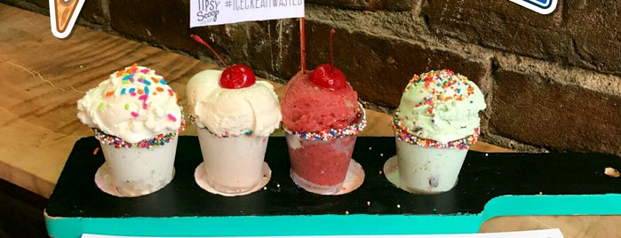 Tipsy Scoop is one of NYC Happy Hour.