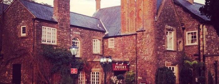 The Priory Restaurant & Hotel Caerleon is one of Paranormal Sights.
