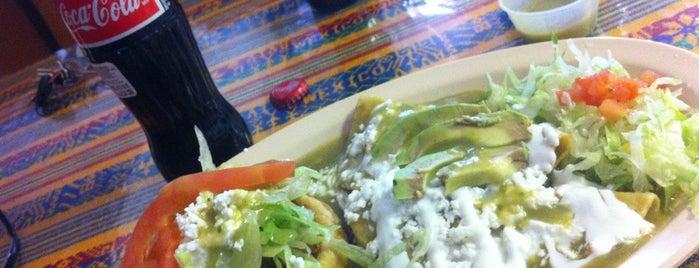 El Revolutionario Diner is one of My desert Mexican food list.