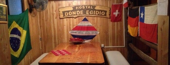 Hostel Donde Egidio is one of Viaje Patagonia.