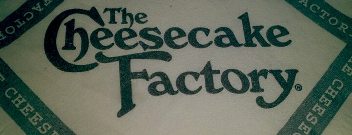 The Cheesecake Factory is one of Locais curtidos por Comert.