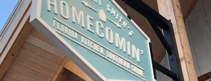 Chef Art Smith's Homecomin' is one of Disney.