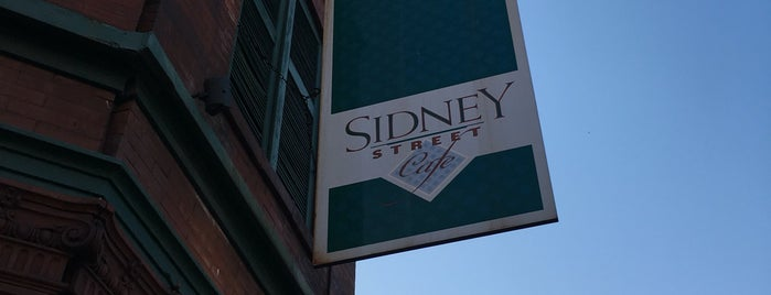 Sidney Street Cafe is one of STL.