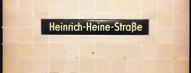 U Heinrich-Heine-Straße is one of U & S Bahnen Berlin by. RayJay.