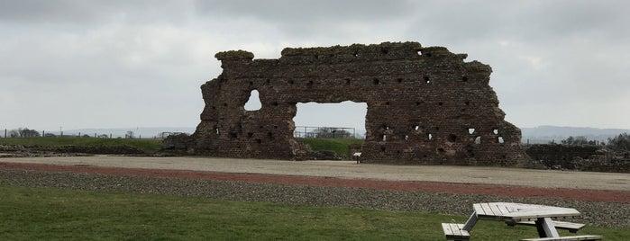Wroxeter Roman City is one of Tempat yang Disukai Carl.