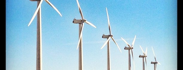 San Gorgonio Pass Wind Farm is one of Alicia's Top 200 Places Conquered & <3.