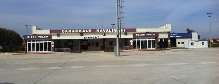 Çanakkale Havalimanı (CKZ) is one of Lugares favoritos de Banu Y.