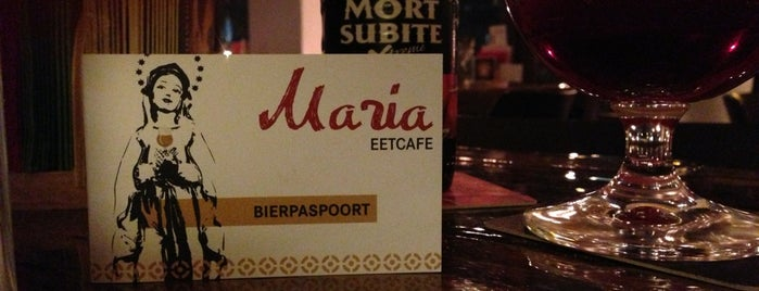 Maria Eetcafé is one of Futterliste.