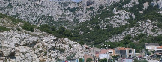 Calanque de Callelongue is one of Les Callangues.