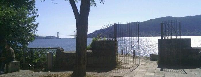 Illa de San Simón is one of Vigo.