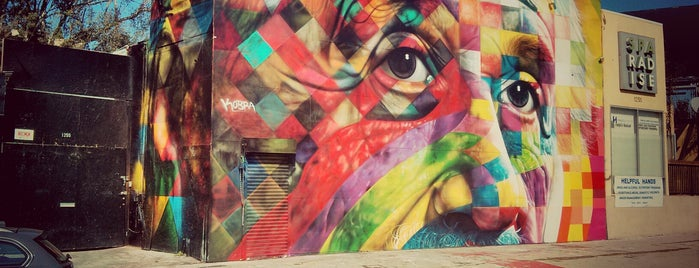 """Albert Einstein"" Mural by Eduardo Kobra is one of USA Trip 2013."