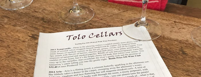 Tolo Cellars is one of Paso 2019.