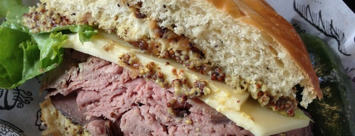 Zingerman's Delicatessen is one of A State-by-State Guide to Sandwich Heaven.
