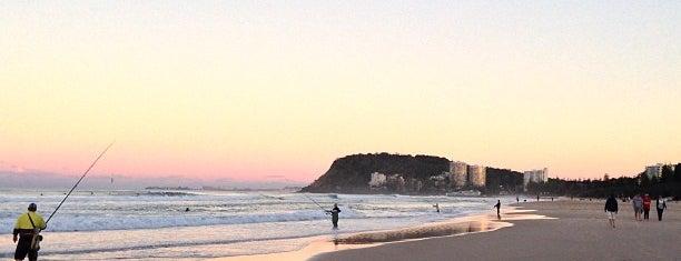 Burleigh Heads Beach is one of 10/2018 Australia.
