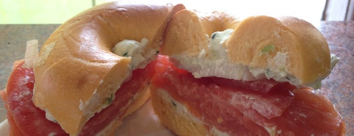 Detroit Bagel Factory is one of Awesomeness!.