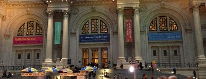The Metropolitan Museum of Art is one of The Crowe Footsteps.