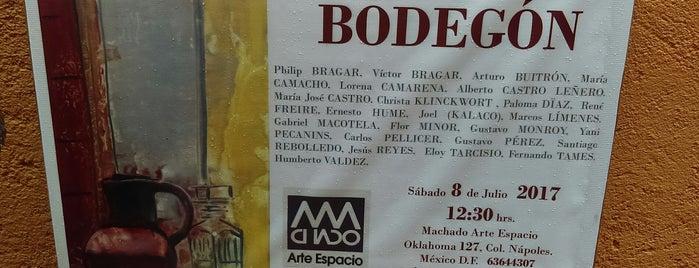 Galería Machado Arte Espacio is one of Catador 님이 좋아한 장소.