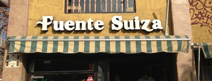 Fuente Suiza is one of Santiago.