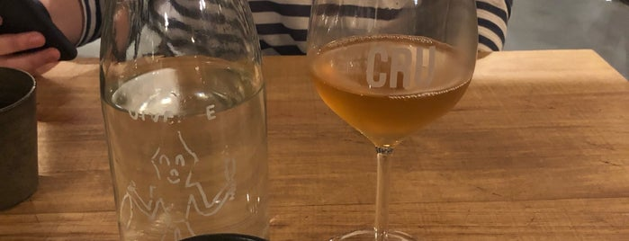Cru Natural Wine Bar is one of rio 2018.