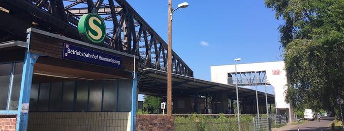 S Betriebsbahnhof Rummelsburg is one of U & S Bahnen Berlin by. RayJay.