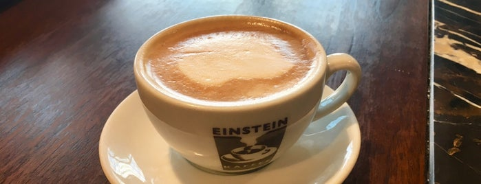 Einstein Kaffee is one of Tempat yang Disukai Vangelis.
