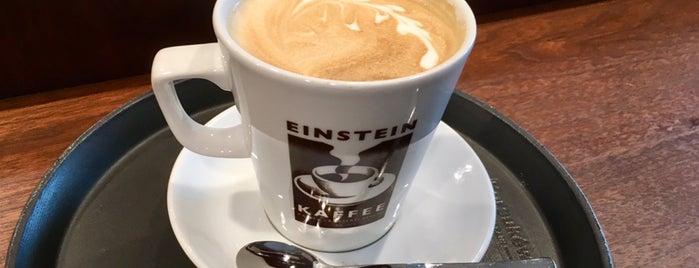 Einstein Kaffee is one of Tempat yang Disukai Cody.