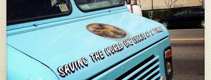 Captain Cookie and the Milk Man is one of Washington DC Food Trucks.