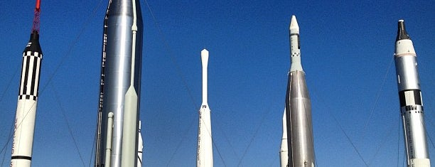 Rocket Garden is one of Kennedy Space Center.