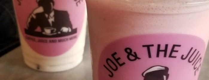 JOE & THE JUICE is one of Orte, die Adam gefallen.