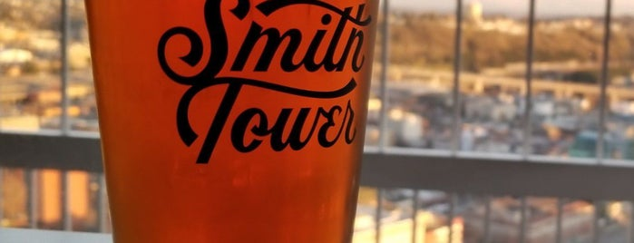 Smith Tower Observation Bar is one of Seattle To-Do's.