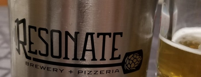Resonate Brewery & Pizzaria is one of Breweries I've been to..