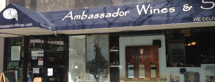 Ambassador Wines & Spirits is one of Lieux qui ont plu à Foxxy.