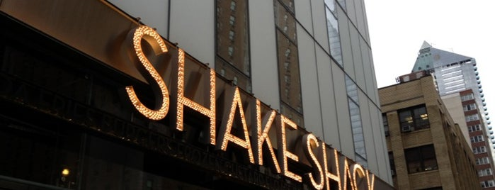 Shake Shack is one of A Trip to New York.