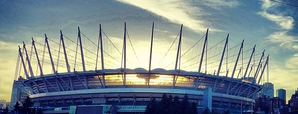 BC Place is one of USA.