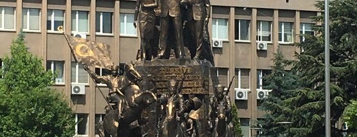 Uşak Heykel is one of Denizli & Aydın & Burdur & Isparta & Uşak & Afyon.