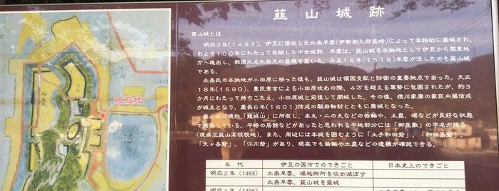 韮山城 is one of 伊豆.