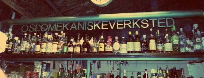Oslo Mekaniske Verksted is one of Bars.