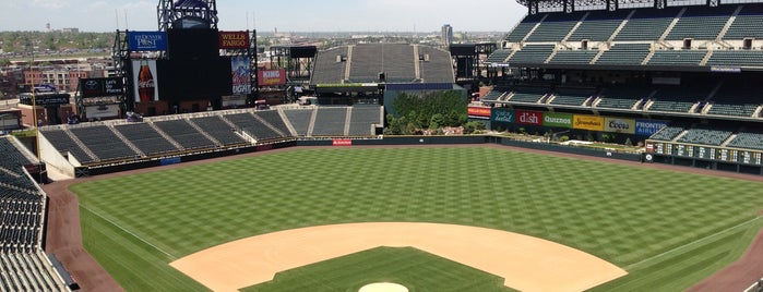 Coors Field is one of Denver 2013.