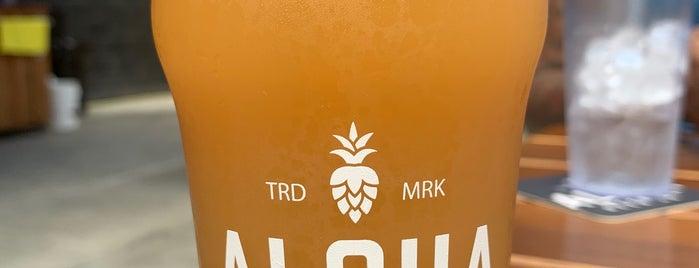 Aloha Beer Company is one of Gespeicherte Orte von DadOnTheScene.