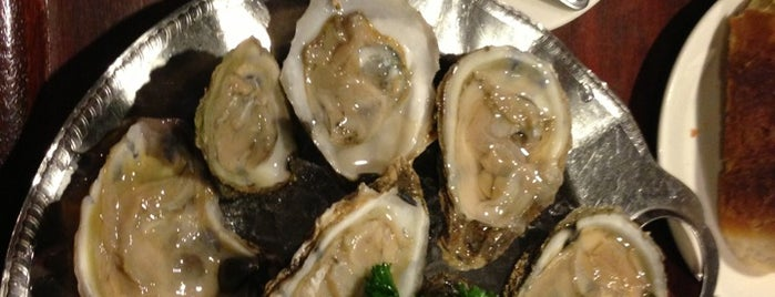 John's Oyster Bar is one of Lugares favoritos de Vince.