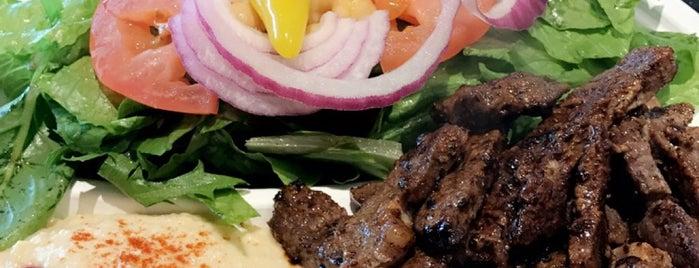 Saca's Mediterranean Cuisine is one of สถานที่ที่ Elijah ถูกใจ.