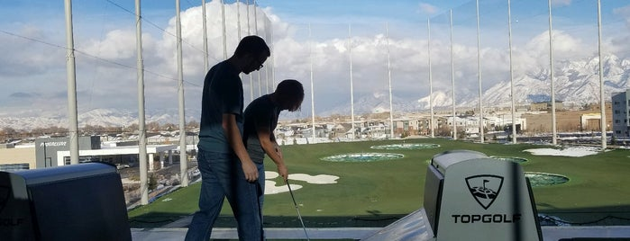 Topgolf is one of Salt Lake City.