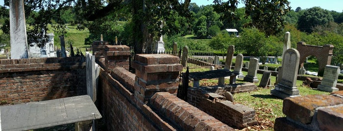 Natchez City Cemetery is one of Natchez must see's.