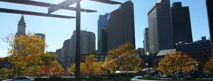 The Rose Kennedy Greenway - Mothers Walk is one of Boston.