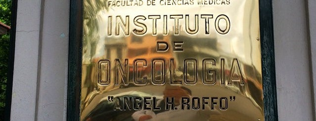 """Instituto de Oncología """"Ángel H. Roffo"""" is one of Medical."""